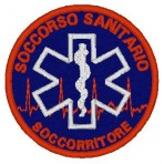 Ricamo 118 SOCCORSO SANITARIO patch