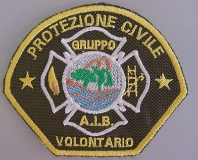 Ricamo Gruppo Antincedio Boschivo Volontario