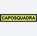 Etichetta ricamata con velcro CAPOSQUADRA