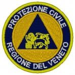 Stemma ricamato Protezione Civile regionale
