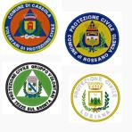 Ricamo patch Protezione Civile Comunale