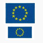 Ricamo bandiera Europa da cucire