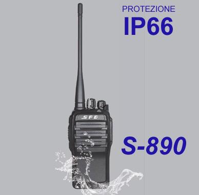 Ricetrasmettitore S-890