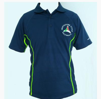 Maglietta Polo Tessuto Tecnico