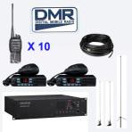 Sistema radio digitale DMR con ripetitore